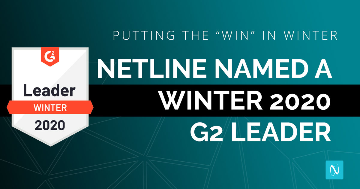 NetLine is once again named a G2 Crowd Leader in the Lead Capture category.